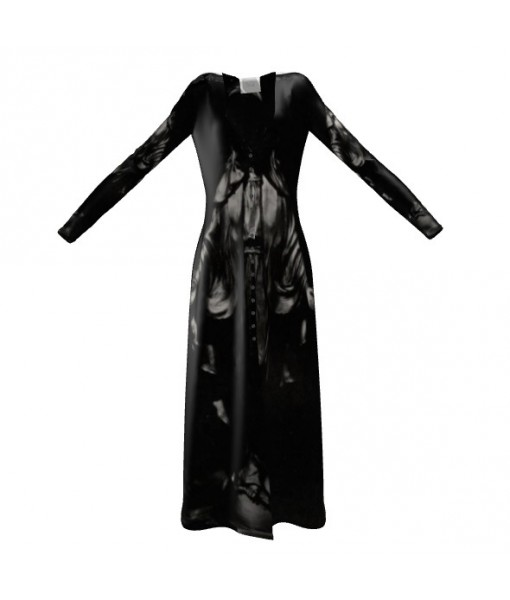 Dark Madonna Cardigan Dress