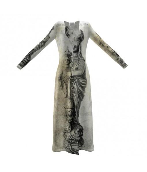Light Madonna Cardigan Dress