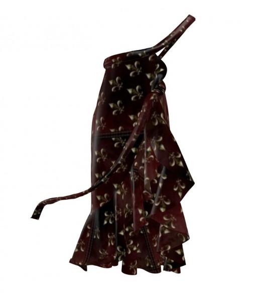 Fleur de Lys Flounce Skirt