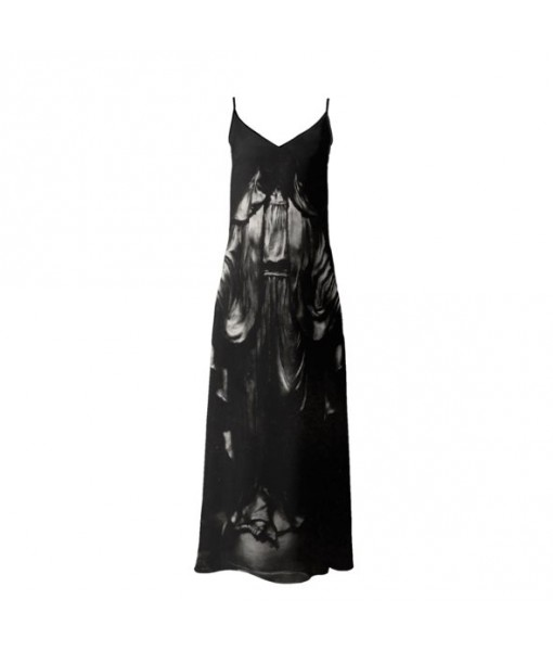 Dark Madonna Slip Dress