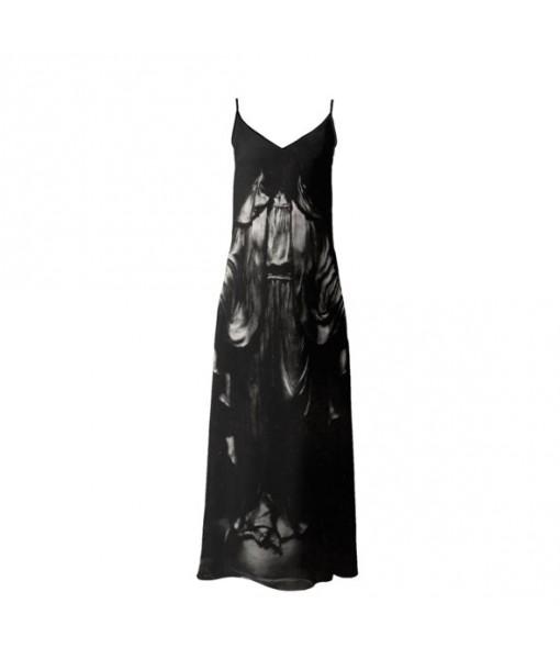 Dark Madonna Slip Dress