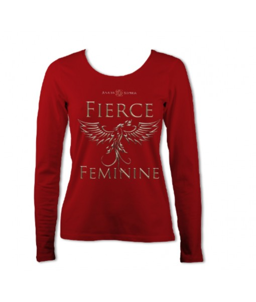 Fierce Feminine Women's Long T-shirt