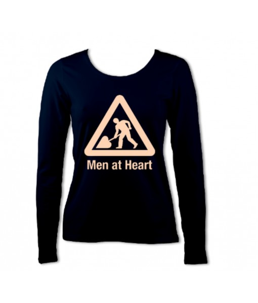 Men at Heart 1 Colour Women's ...