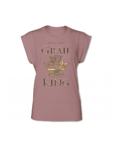 Grail King Women's Rolled Cuff T-shirt