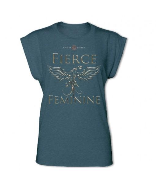 Fierce Feminine Women's Rolled Cuff T-shirt