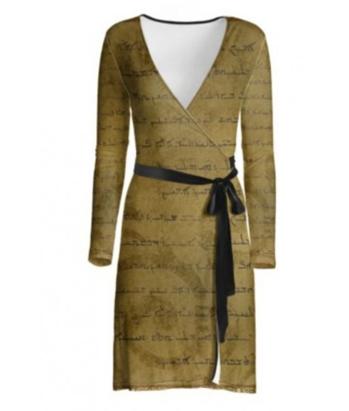 Lords Prayer Wrap Dress