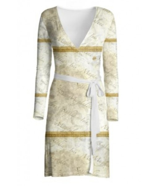 Sophia Isis Magdalene Wrap Dress